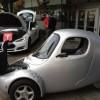 شركة كندية تنتج سيارة كهربائية بثلاث عجلات!