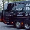 Borussia Dortmund defender Marc Bartra injured when three explosive devices go off near team bus