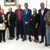 الرباط : رئيس النيابة العامة يتدارس مع جمعية إعلاميي عدالة سبل التعاون