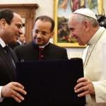 البابا فرنسيس يستقبل الرئيس السيسي في الفاتيكان
