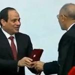 الرئيس السيسي يمنح وسام العلوم لـ24 فائزاً