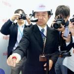 خاتم ذكي من فوجيتسو يتيح الكتابة في الهواء