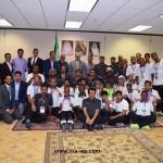 """برعاية مجموعة """" سعوديين في أمريكا """" المملكة تحقق مراكز عليا في دورة العاب الاولمبياد العالمية الخاصة ٢٠١٥"""