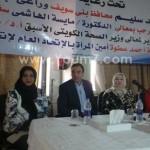 مايسة الهاشمي : المرأة المعيلة والزواج الجماعى لليتيمات وإدخال المياه للفقراء ,وكراسى للمعاقين من أولويات خطتى فى محافظات مصر .