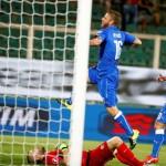 هدف دي روسي يمنح ايطاليا الفوز على بلغاريا