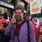كشف المعتدين على وفد السيسي بأميركا.. بينهم شقيق شوبير , أنصار الجماعة الارهابية
