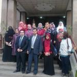 مدير أمن الفيوم يلتقي مجلس القيادات النسائية واعضاء جمعية السواقي