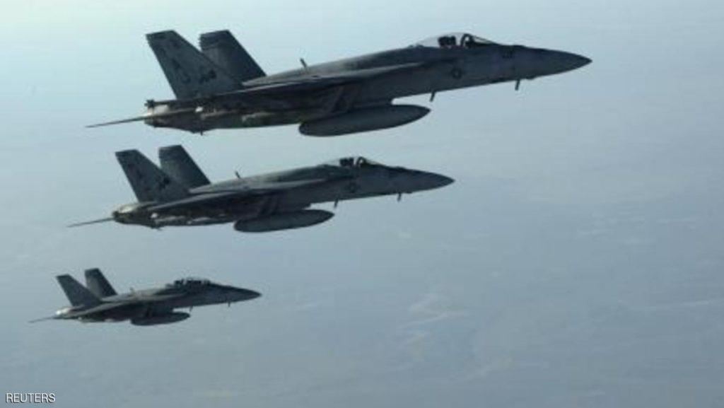 تشكيل من طائرات أميركية تابعة للتحالف الدولي