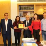 لجنة روّاد من لبنان تكّرم المحامي عزيز طربيه